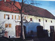 Heimsheim, Zehntscheune Quelle: Crowell/Karlsruhe (1/2000) / Ehem. Zehntscheune in 71296 Heimsheim