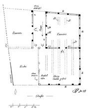 Systemskizze Grundriss 1. Obergeschoss / Wohnhaus, Jägergasse 14 in 79219 Staufen, Staufen im Breisgau (Lohrum, Burghard)