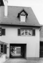 Südostansicht / Wohnhaus, Jägergasse 14 in 79219 Staufen, Staufen im Breisgau (Stadtarchiv Staufen)