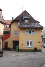Straßenansicht / Wohnhaus in 79219 Staufen, Staufen im Breisgau (25.01.2009 - Lohrum)