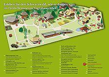 Gesamtplan Schwarzwälder Freilichtmuseum Vogtsbauernhof / Schwarzwälder Freilichtmuseum Vogtsbauernhof in 77793 Gutach (Schwarzwaldbahn) (03.02.2010 - SFLM)