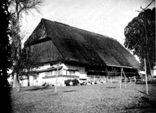 Ansicht von Südwesten um 1928  / Specksepplehof in Sulgen (Südwestdeutsche Beiträge zur historischen Bauforschung )