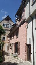 Ehem. Garnsiede, Schörhausgasse 3, Ulm - Südostansicht / Garnsiede in 89073 Ulm (30.05.2018 - Christin Aghegian-Rampf)