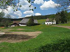 Öhlerhof im Rengental aus Südosten / Oehlerhof in 79871 Eisenbach-Schollach (13.05.2008 - http://www.freiburg-schwarzwald.de/eisenbach5.htm)