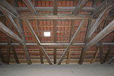 Detail Dachwerk / ehem. Kapuzinerkloster, Dachreiter in 71263 Weil der Stadt (09.05.2010 - Lohrum)