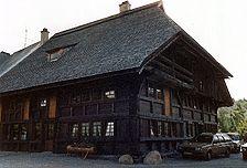 Das Bild zeigt denBühlhof im Jahre 1989 nach aufwendiger Restaurierung kurz vor der Eröffnung / Bühlhof in 78141 Schönwald, Auf'm Bühl (23.10.2007)