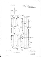 Grundriss 2. OG / Wohnhaus, Brunnenstraße 26 in 78050 Villingen (15.03.2011 - Lohrum)