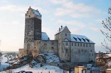 Ansicht der Burg von Osten / Burg Katzenstein in 89561 Dischingen, Katzenstein (21.01.2011 - Michael Hermann)