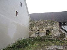 Trochtelfingen, Pfarrgasse 16, Stadtseite / Stadtmauer in 72818 Trochtelfingen (18.11.2010 - Regierungspräsidium Tübingen, Referat Denkmalpflege)