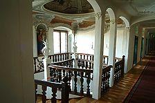 Treppenhaus im 2. OG / Kloster Maria Rosengarten in 88410 Bad Wurzach (07.10.2008 - Michael Hermann)