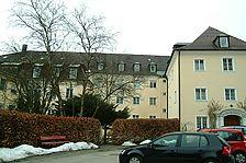 Südansicht / Kloster Maria Rosengarten in 88410 Bad Wurzach (04.03.2009 - Michael Hermann)