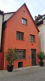 Nordfassade / Wohnhaus in 89073 Ulm (20.10.2018 - Christin Aghegian-Rampf)