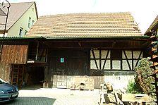 Ostansicht / Scheune in 71287 Weissach - Flacht (10.06.2008 - Michael Hermann)