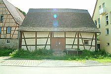 Westansicht / Scheune in 71287 Weissach - Flacht (10.06.2008 - Michael Hermann)