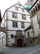 Ostansicht / Gebsattelbau in 74523 Schwäbisch Hall - Großcomburg, Comburg (21.04.2006 - Vermögen und Bau Heilbronn, Außenstelle Schwäbisch Hall)