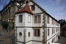 Westansicht / Gebsattelbau in 74523 Schwäbisch Hall - Großcomburg, Comburg (31.07.2009 - Vermögen und Bau Heilbronn, Außenstelle Schwäbisch Hall)