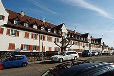 Ansicht von Nordwesten / Wohnblock in 70191 Stuttgart, Stuttgart-Nord (03.03.2010 - Michael Hermann)