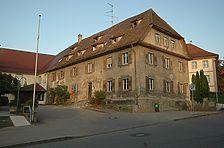 Ansicht von SO / Gasthaus Hirsch - Post in 88361 Altshausen (13.09.2006 - Anja Krämer)