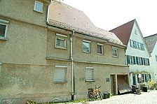 Westansicht / Wohnhaus in 89073 Ulm (14.04.2009 - Michael Hermann)