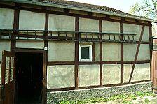 Ostansicht (Scheunenanbau) / Wohnhaus in 89073 Ulm (14.04.2009 - Michael Hermann)