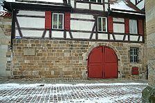 Westansicht / Zehntkelter in 73728 Esslingen, Esslingen am Neckar (27.01.2006 - Michael Hermann)