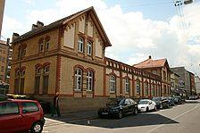 Nordfassade, Ansicht Tübinger Straße 45-61 / Ehem. Polizeiwache in 70178 Stuttgart, Stuttgart-Süd (20.05.2011 - L. Becker)