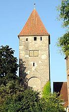 Rinderbacher Torturm in 73525 Schwäbisch Gmünd (www.ostalb.net)