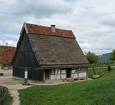 Weberhaus im FLM Beuren / Weberhaus aus Laichingen in 89150 Laichingen (http://www.freilichtmuseum-beuren.de/museum/rundgang/weberhaus-aus-laichingen/)