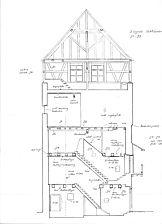 Querschnitt Gebäude / Wohnhaus in 78426 Konstanz (29.09.1987 - Lohrum)