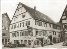 historische Aufnahme, vmtl um 1950 / Wohnhaus in 71540 Murrhardt (21.07.2013 - Körper, privat)