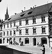 Fassadenansicht (1950/60) / Wessenberghaus, ehem. Domhof in 78426 Konstanz (12.11.2011 - Bildindex Foto Marburg (B 663/5))