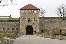 Festung Hohenasperg. Äußerer Torturm. / Hohenasperg in 71679 Asperg, Hohenasperg (12.01.2012 - Michael Hermann)