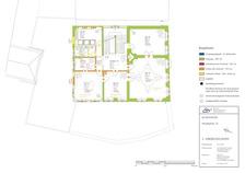 Bauphasenplan zum 2. Obergeschoss / Kapitularhaus in 73479 Ellwangen, Ellwangen (Jagst) (30.01.2012 - Markus Numberger, Esslingen)
