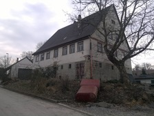 Ansicht Nordost / Bauernhaus Pfarrer-Mayer-Typus in 74632 Neuenstein-Obersöllbach (24.02.2011 - Wieland und Meissner, Öhringen (Ingenieurgesellschaft mbH / Beratende Ingenieure im Bauwesen))