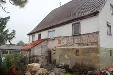 Ansicht Südwest / Bauernhaus Pfarrer-Mayer-Typus in 74632 Neuenstein-Obersöllbach (09.10.2012 - Wieland und Meissner, Öhringen (Ingenieurgesellschaft mbH / Beratende Ingenieure im Bauwesen))