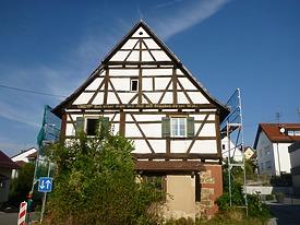 Ansicht / Wohnhaus in 73527 Schwäbisch Gmünd – Wustenriet (15.09.2016 - strebewerk. Architekten GmbH)