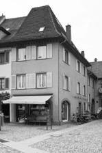 Ansicht Eckhaus / Wohn- und Geschäftshaus in 79219 Staufen, Staufen im Breisgau (Stadtarchiv Staufen)