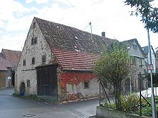 Ansicht der Kelter von Nordwesten / Ehem. Stiftskelter in 71737 Kirchberg an der Murr