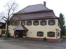 Südansicht / Gasthof Neuhaus in 72355 Schörzingen (07.08.2013 - Michael Hermann)