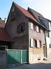 Westansicht des Gebäudes / Wohngebäude in 75031 Eppingen