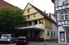 Consulentengasse 11, Nordostansicht / Sog. Schwarzer Adler in 88515 Biberach, Biberach an der Riß (24.06.2018 - Christin Aghegian-Rampf)