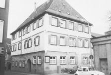 Ansicht gegen NO (um 1980) / Sog. Klösterle in 88400 Biberach, Biberach an der Riß (Bildindex Foto Marburg: LAD BW/Tübingen, Microfiche-Scan mi04935d03)