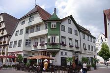 Ansicht Südost von Kirchplatz / Wohnhaus in 88400 Biberach, Biberach an der Riß (24.06.2018 - Christin Aghegian-Rampf)