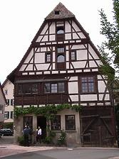 Ansicht von Süden / Wohnhaus in 74354 Besigheim (2007 - Denkmalpflegerischer Werteplan, Gesamtanlage Besigheim, Regierungspräsidium Stuttgart)