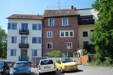 Südostseite (mittleres Gebäude) / Bürgerhaus in 88662 Überlingen (05.05.2011 - A. Kuch)