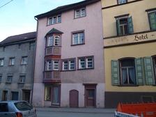 Wohn- und Geschäftshaus in 78628 Rottweil, Altstadt (24.03.2011 - http://rottweil.net/frame/Ansichten/Innenstadt/UntereHauptstrasse/Hauptstrasse_62/Maerz2011/Untere_Hauptstrasse_62_24.03.2011_12.jpg, letzter Zugriff am 6.11.2014)