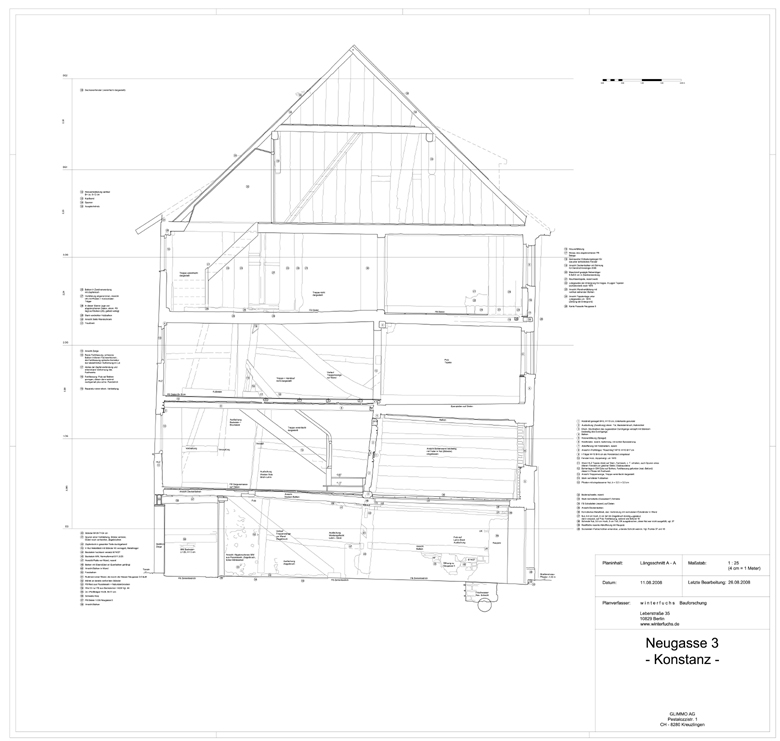 Wohnhaus Neugasse 3/5 » Objektansicht » Datenbank Bauforschung ...