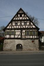 Wohnhaus Gebäudekomplex Mühlstr. 15/17 / Bauernhaus mit Scheune Mühlstraße 15+17 in Reutlingen-Betzingen (23.04.2013 - winterfuchs)